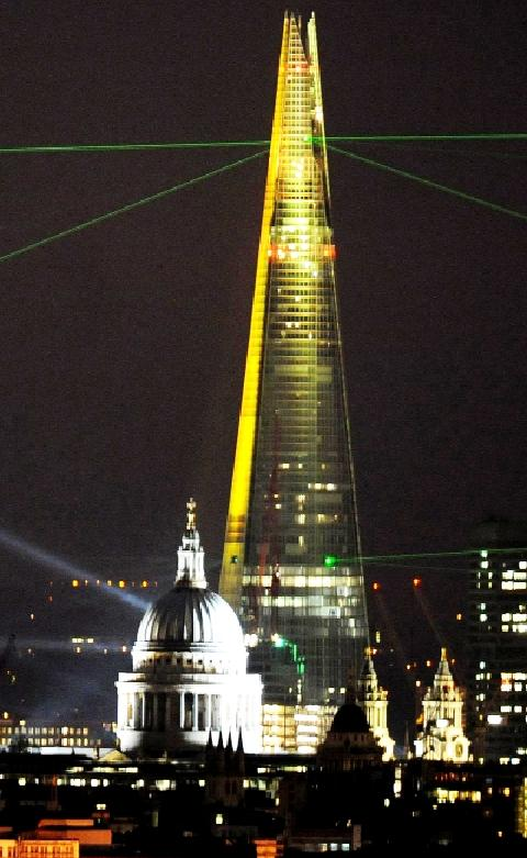 LIGHTS FANTASTIC Burnley company LITE Ltd has designed, built and installed the lighting display on the spectacular new building The Shard in London – Western Europe's tallest building.
