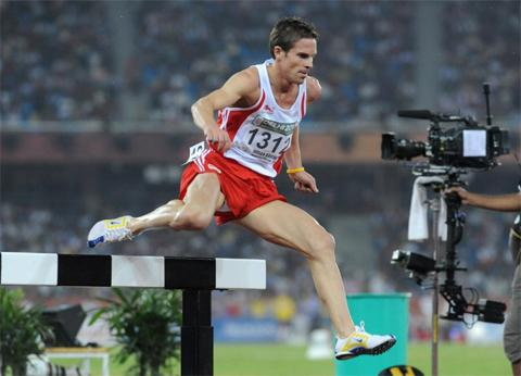 Steeplechaser Stuart Stokes has won an Olympic squad place