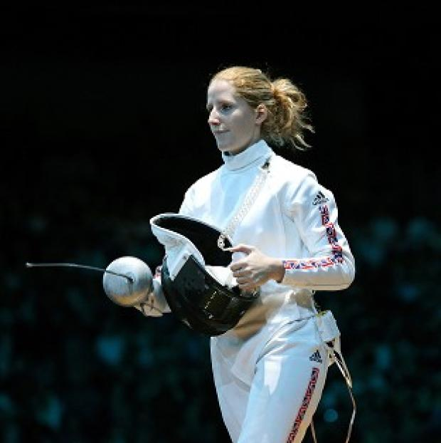Corinna Lawrence crashed out in the last 32 of the women's epee