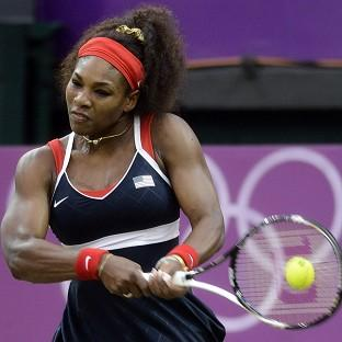 Serena Williams dropped just one game on her way to the gold medal