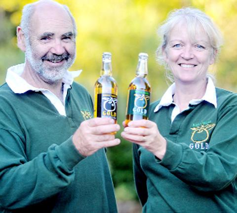 ... traditional cider makers as a hobby looks set to mature into a business.