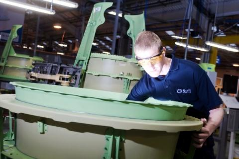 CUTTING EDGE Aircelle's quality work has helped to win major contracts
