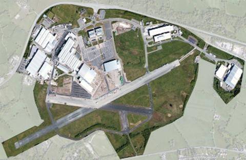 MASTERPLAN An aerial view of the enterprise zone