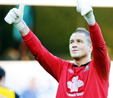 CONFIDENT Blackburn Rovers goalkeeper Paul Robinson is hopeful of promotion in the wake of Wednesday's win over Hull