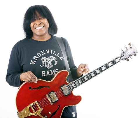 STAR TURN Joan Armatrading is one of the highlights at this year's Great British Rhythm and Blues Festival
