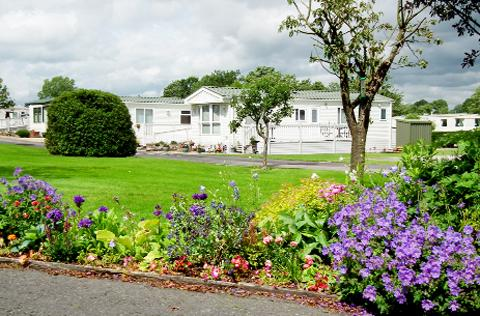 Hackings Caravan Park in Billington