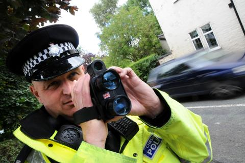 Rush hour speeders caught in Billington