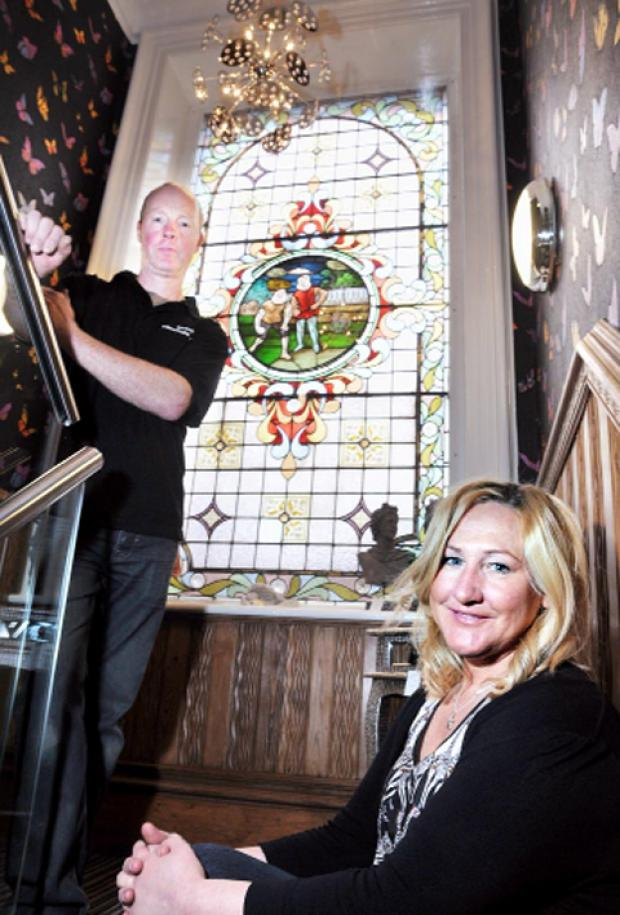 Nick and Catherine Almond have transformed the former pub