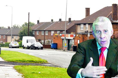MP Jack Straw is outraged by the documentary's treatment of Shadsworth