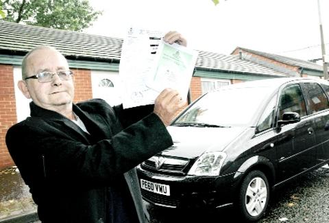 Pensioner sickened by Blackburn with Darwen Council