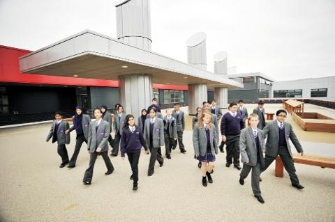 Latest 'super school' opens doors to Blackurn and Darwen pupils