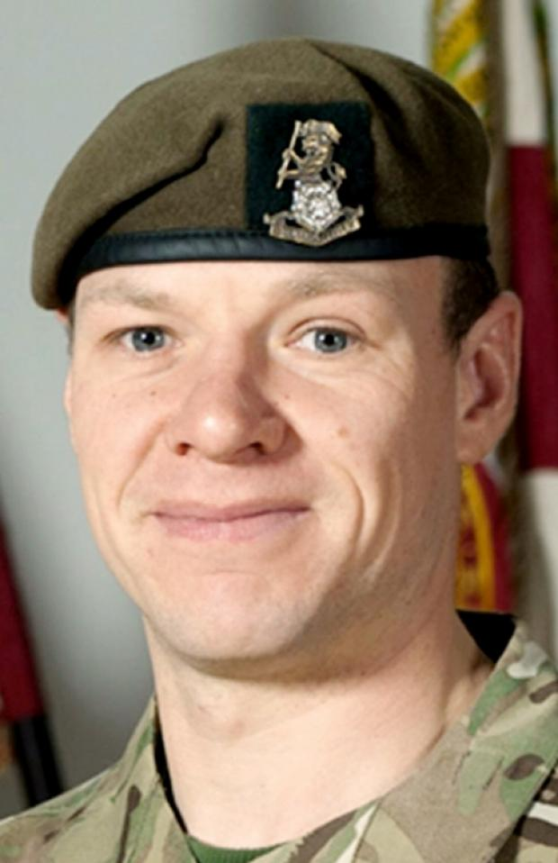 'LEGEND'Sgt Gareth Thursby was killed by a man wearing an Afghan police uniform