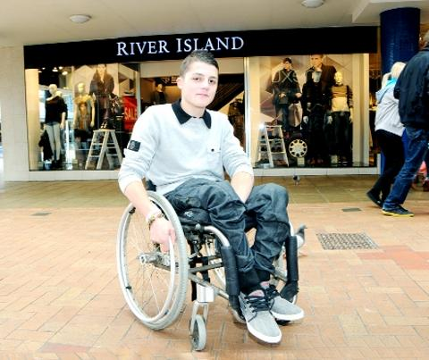 Burnley disabled teenager refused entry into River Island