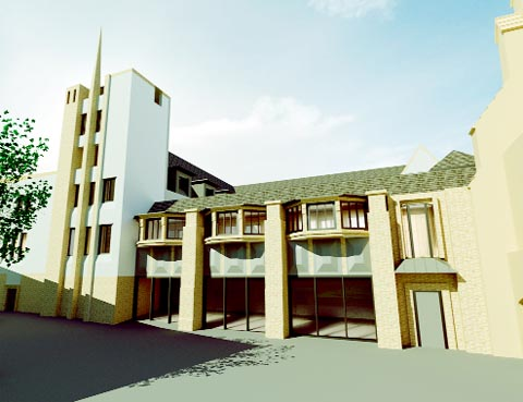 First look at plans for Blackburn's Cathedral Close
