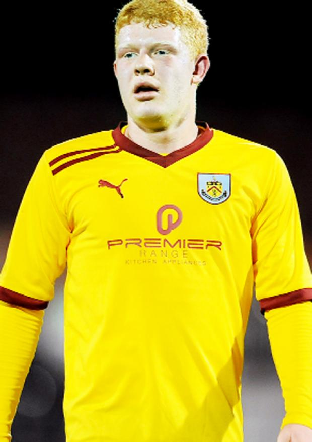 Clarets teenager Jack Errington
