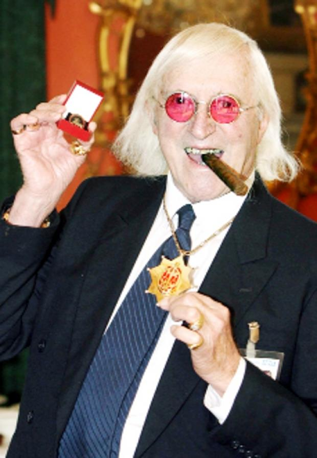 CIGAR MAN Flamboyant Jimmy Savile in 2008