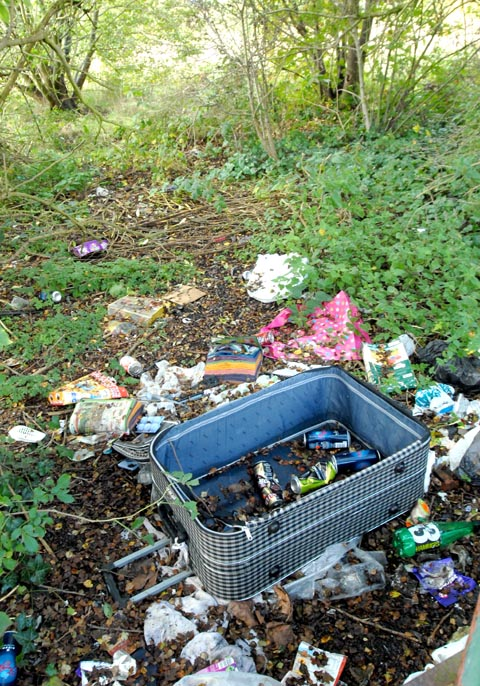 Flytipping is costing the county