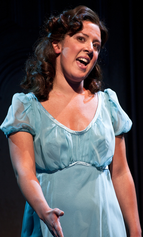 Rawtenstall's Natalie Casey as Judy. Photo: Simon Annand