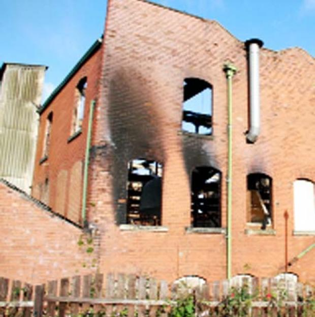 DAMAGE Moorgate Mill was wrecked by fire in August 2009
