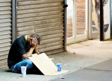 PURGE Shops and businesses have complained about town centre beggars