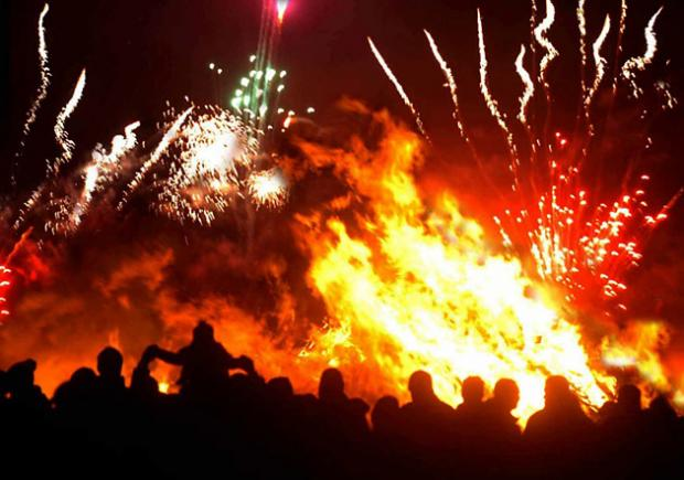 East Lancashire gets all fired up for Bonfire Night
