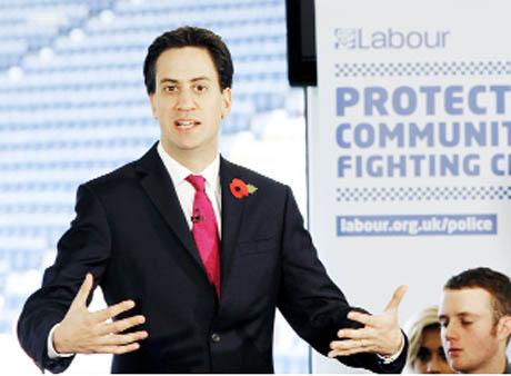 SPEECH Ed Miliband in Preston yesterday