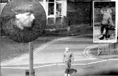 WRECKING SPREE CCTV pictures of the man police suspect of smashing windows