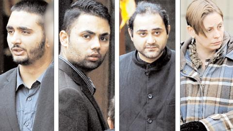 Faran Abbas, Sohail Abbas, Ross Walsh and Christina Walsh all face 'substantial prison sentences'