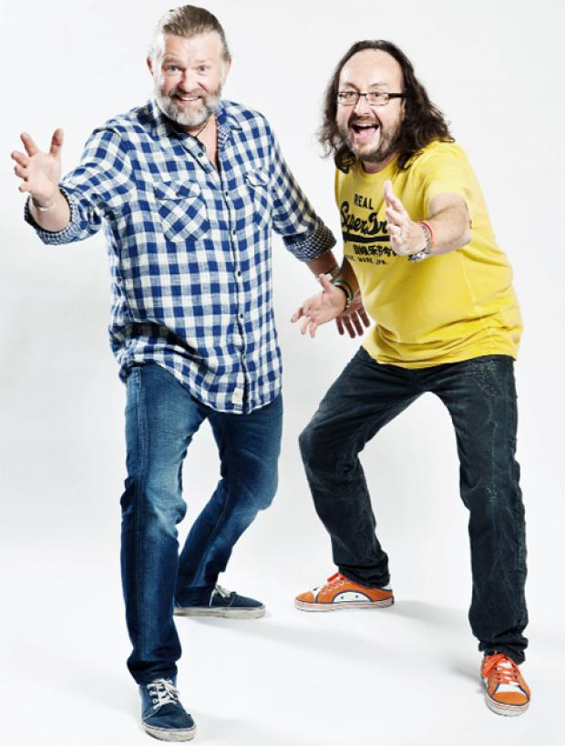 The new slimline Hairy Bikers