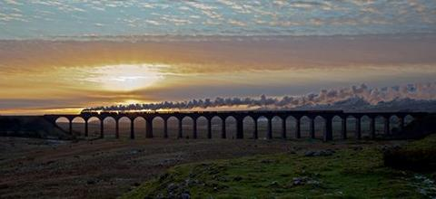 Graham's photo of Ribblehead viaduct