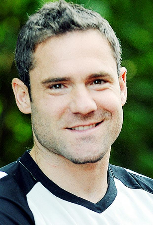 Rovers player David Dunn