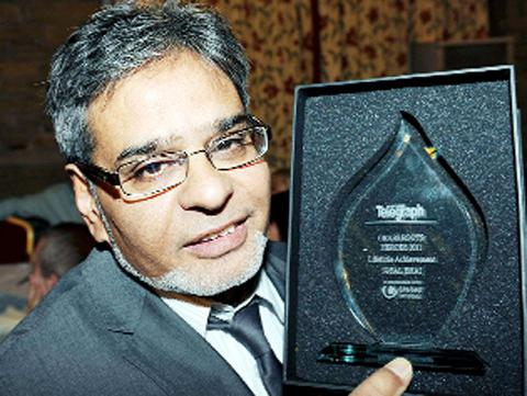 Last year's lifetime achievement award winner Iqbal Bhai