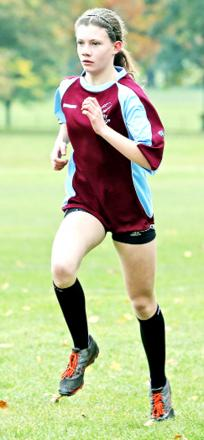 Natalya Irvine was one of the runners selected to represent Burnley. Photo: KIPAX
