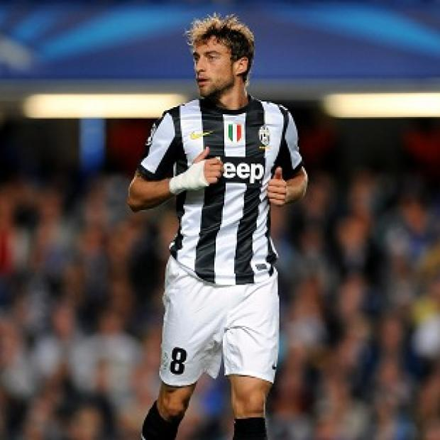 Claudio Marchisio opened the scoring for Juventus against Nordsjaelland