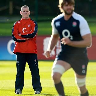 England coach Stuart Lancaster, left, has named an inexperienced team to face Fiji