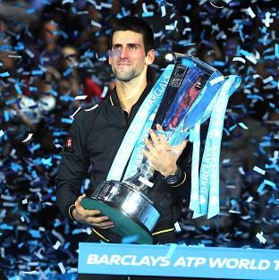 Novak Djokovic picked up his second ATP World Tour Finals title