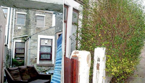 One notice required repairs to a property in Exchange Street, Accrington