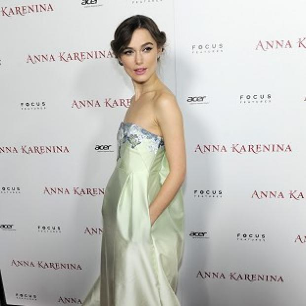 Keira Knightley at the LA premiere of Anna Karenina