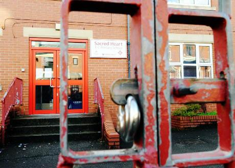 LOCKED UP Sacred Heart Primary