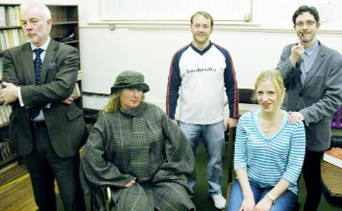 Mark Cassidy, Marie Cassidy, Richard Holley, Claire St Pierre and Andrew Marsden in Night Must Fall