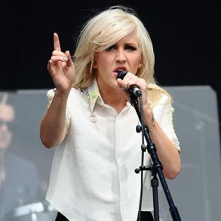Ellie Goulding is still good pals with her ex Skrillex