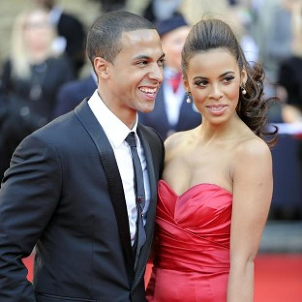 Marvin Humes and wife Rochelle are expecting their first child