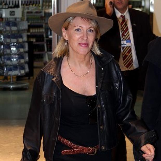 Nadine Dorries was back in Britain after her jungle adventure