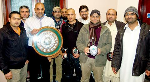 Blackburn Muslims won the Pendle and District Cricket League title