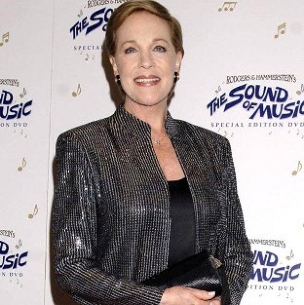 The average Briton has watched Dame Julie Andrews in Mary Poppins eight times at Christmas, a survey shows