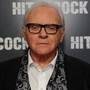 Sir Anthony Hopkins at the Premiere of Hitchcock at BFI Southbank, London.