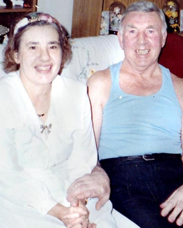 FOUND Frances Thresh, 75, and partner Terry Shore, 81