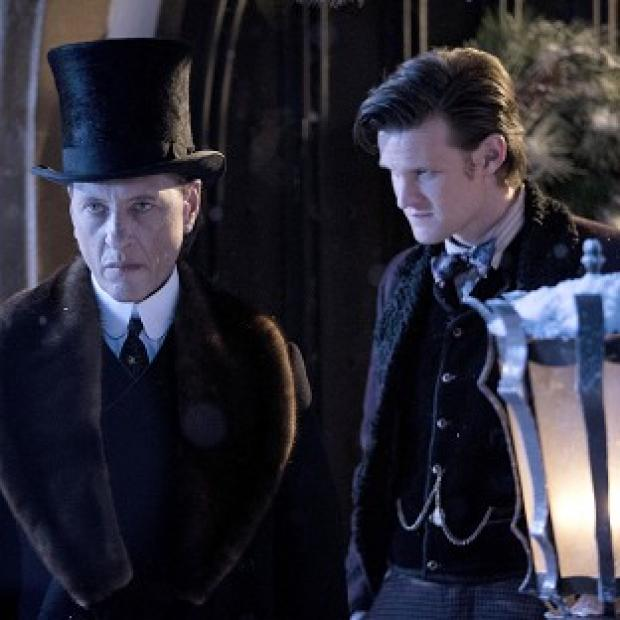 Matt Smith reckons Richard E Grant is the perfect Doctor Who villain