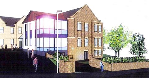 Lancashire Telegraph: How the extension could look