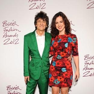 Ronnie Wood and Sally Humphreys have married